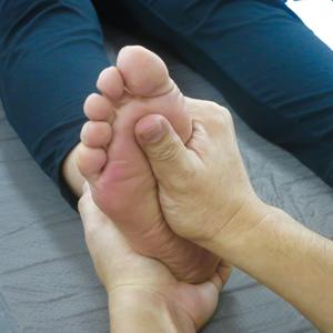 足底筋膜炎へのアプローチ