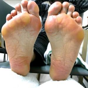 足に合った靴選び